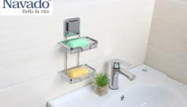 Cách bảo quản phụ kiện phòng tắm inox luôn sáng bóng