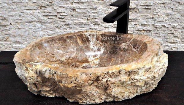 Xu hướng dùng chậu đá cuội tự nhiên thân thiện với môi trường
