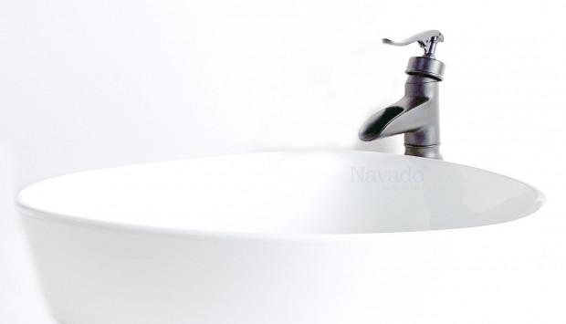Mua bồn rửa bằng sứ tốt với nhiều ưu điểm tuyệt vời