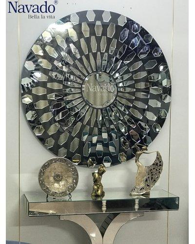 Gương tròn nghệ thuật navado- Roxana