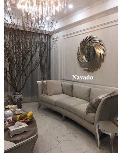 Gương trang trí tân cổ điển Navado -Nut