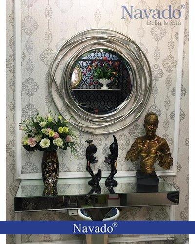 Gương trang trí nghệ thuật phòng khách Julia
