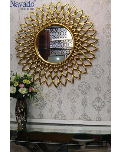 Gương tân cổ điển nghệ thuật Electra (Golden ver)