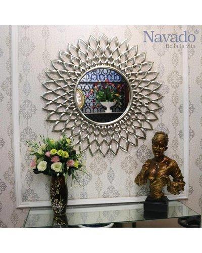 Gương nghệ thuật treo tường phòng khách Navado - Electra