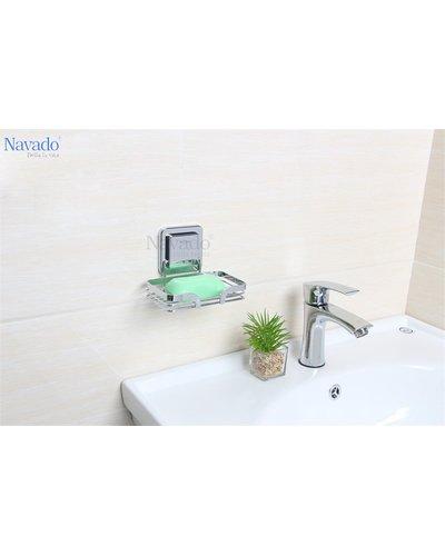 Kệ nan xà bông inox nhà tắm Đà Nẵng GS - 5012
