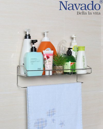 Giá chứa đồ inox đa năng nhà tắm GS - 5016
