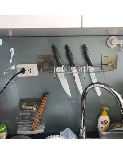 Giá đựng dao, kéo inox tiện ích GS - 5004