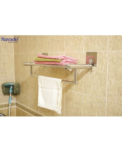 Vắt khăn giàn inox nhà tắm Đà Nẵng GS - 6001