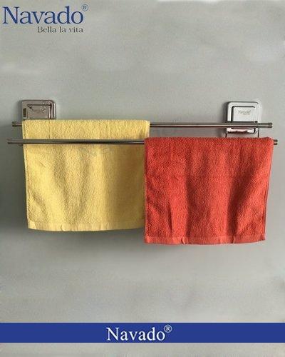 Kệ inox vắt khăn nhà tắm GS - 5009
