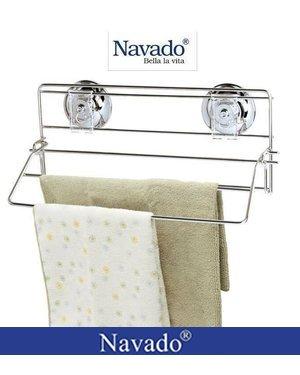 Giá vắt khăn tay inox không khoan tường GS - 3004