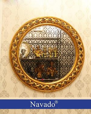Gương trang trí treo tường tân cổ điển Helios