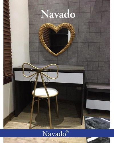 Gương decor home bàn trang điểm Muse Navado