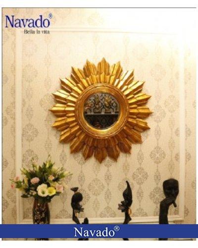 Gương decor trang trí phòng khách Artemis