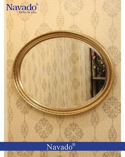 Gương trang trí oval tân cổ điển Iris Navado