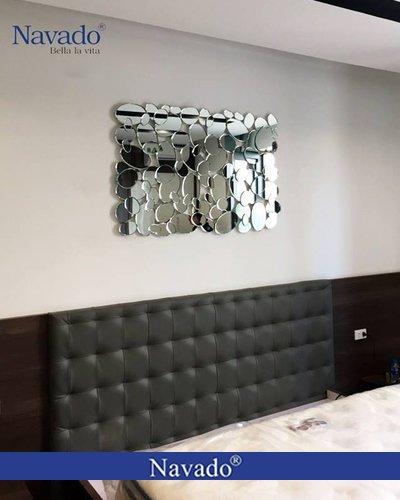Gương trang trí chữ nhật treo tường Mermaid Navado