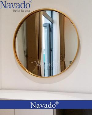 Gương tròn bàn trang điểm Oras 60cm