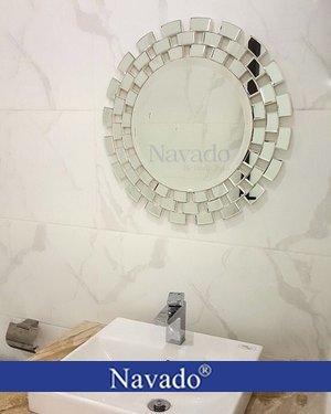 Gương phòng tắm decor treo tường Sunset