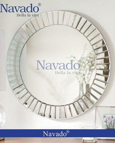 Gương tròn nghệ thuật treo tường The Light