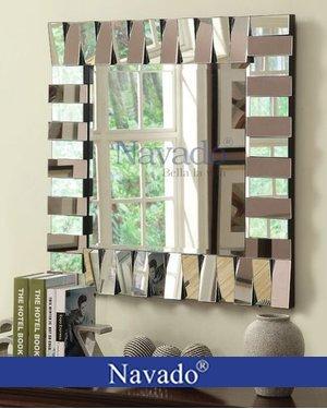 Gương trang trí nghệ thuật phòng khách The Word