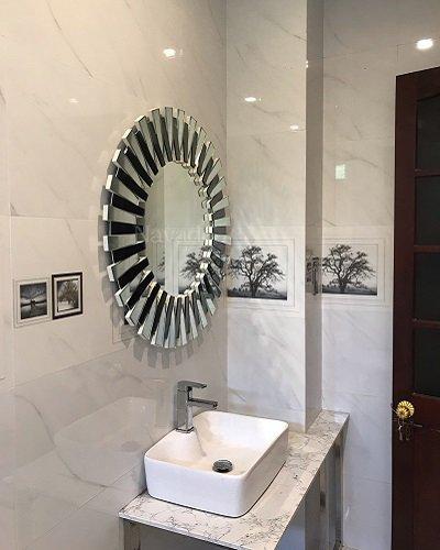 Gương nghệ thuật trang trí phòng tắm Mystery