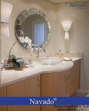 Gương trang trí phòng tắm UFO