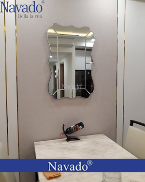 Gương trang trí phòng khách cao cấp Atlantic
