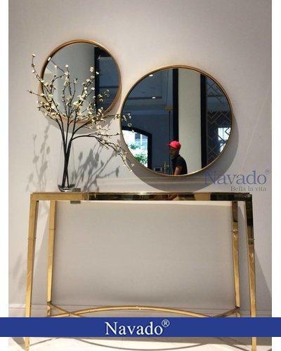 Gương tròn decor trang trí Oras Navado