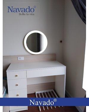 Gương led bàn trang điểm treo tường Navado Đà Nẵng