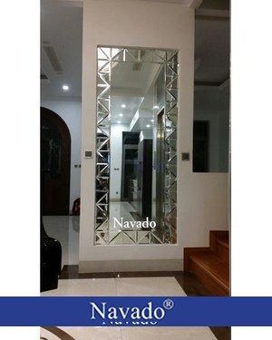 Gương ghép dán ô soi toàn thân Navado