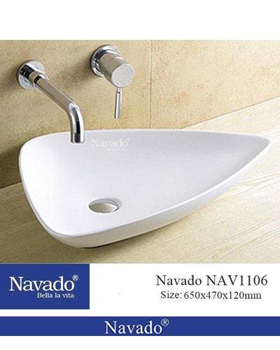 Chậu rửa sứ nghệ thuật Đà Nẵng NAV1106