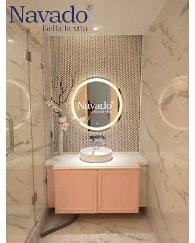 Gương soi đèn led nhà tắm cao cấp Đà Nẵng