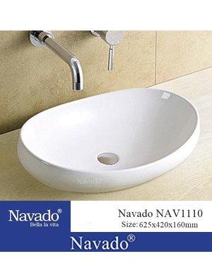 Chậu rửa lavabo cao cấp Đà Nẵng NAV1110