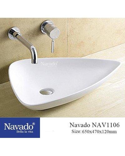Chậu lavabo đặt bàn cao cấp Đà Nẵng NAV1105