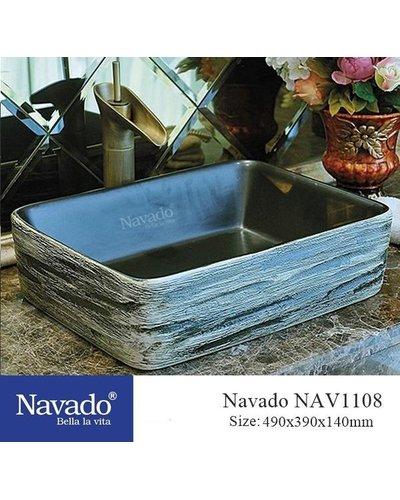 Chậu Lavabo decor nghệ thuật Đà Nẵng NAV1108