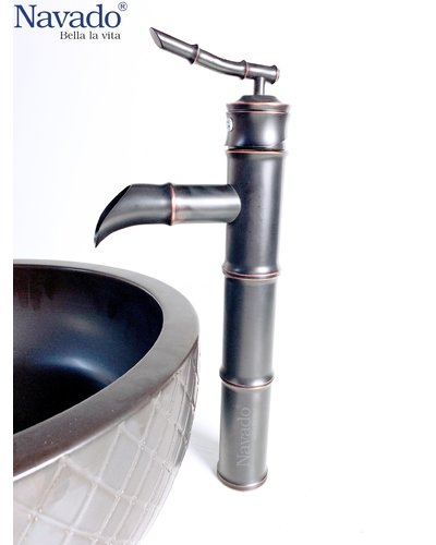 Bộ chậu Lavabo có vòi nghệ thuật Hà Tĩnh RS-102