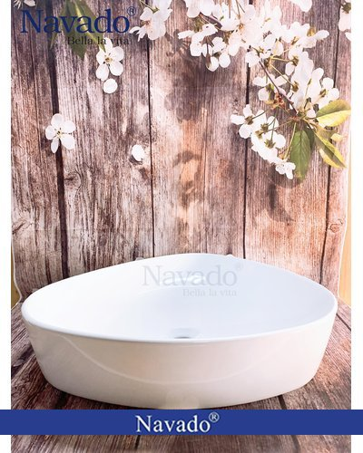 Chậu lavabo phòng tắm Kontum RS1015