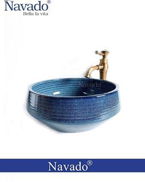 Bộ chậu vòi nghệ thuật phòng tắm Lâm Đồng RS1146E