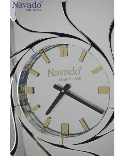 Đồng hồ treo tường trang trí Mimosa