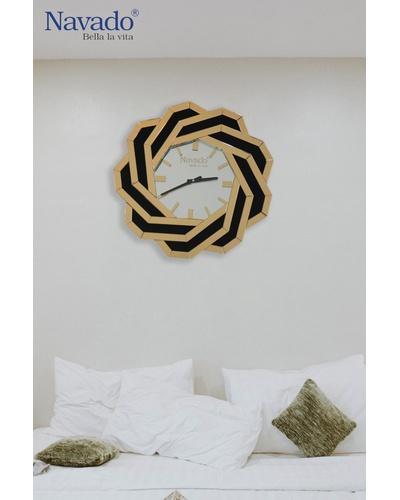 Đồng hồ gương treo tường Spider