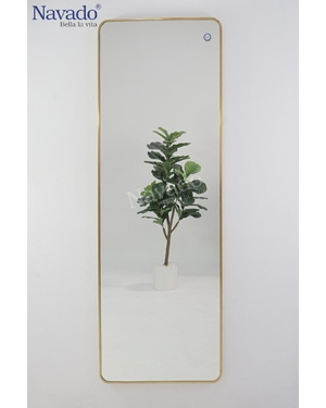 Gương soi toàn thân thiết kế khung inox